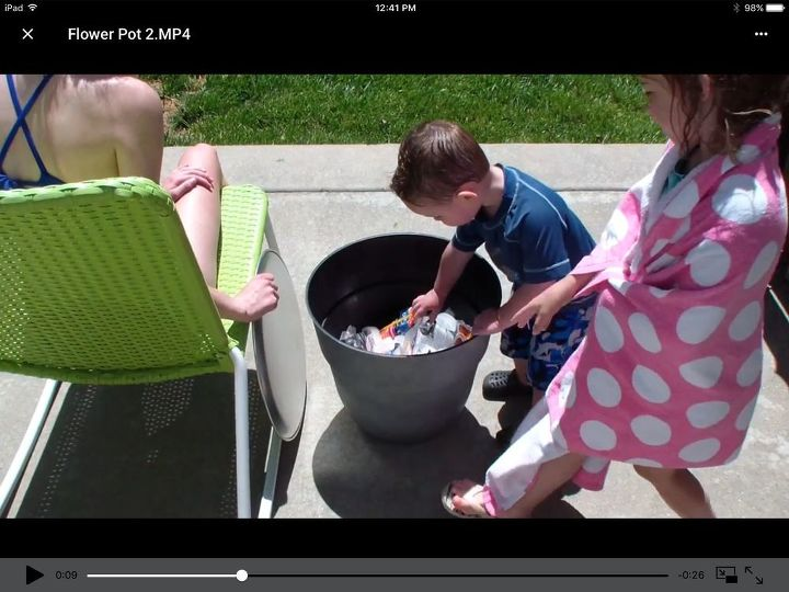 s 10 fun coolers your family can build to keep drinks cool, Have A Table And Cooler Together