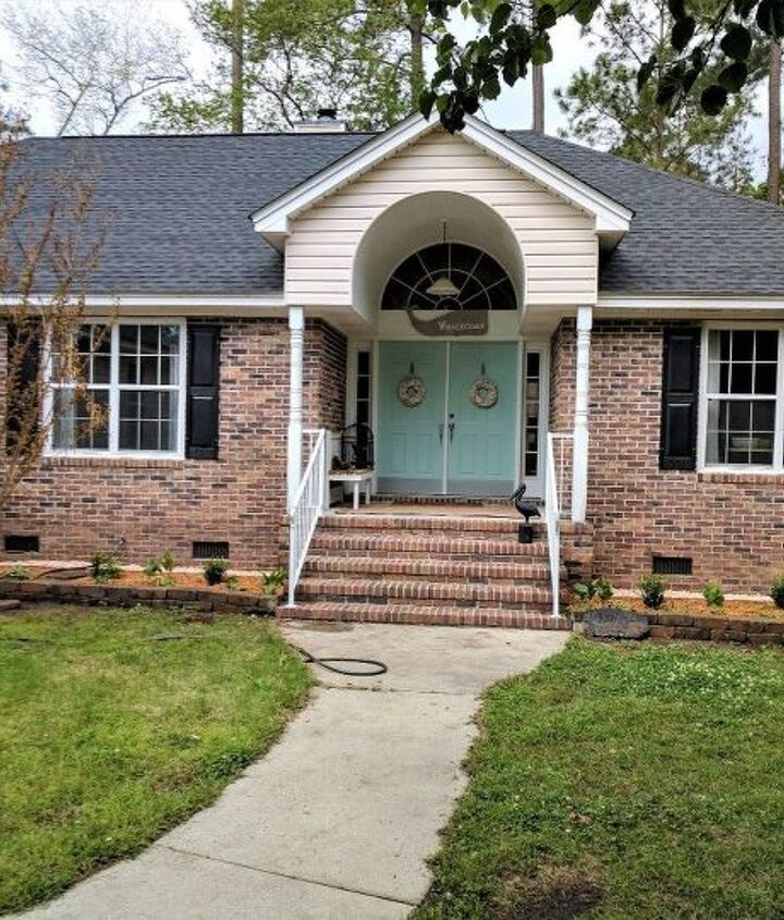 s 10 charming ways to add instant curb appeal to your home, Landscape Around Your Front Door