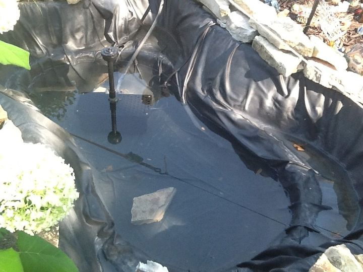 q rubber pond liner leak repair