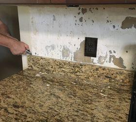 Easy Removal Of Granite Backsplash Hometalk