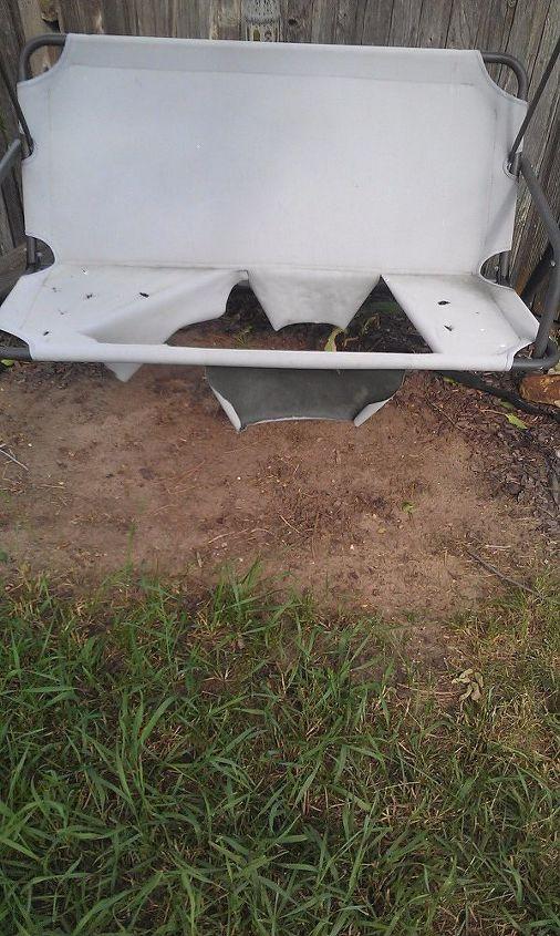 q outdoor furniture repair