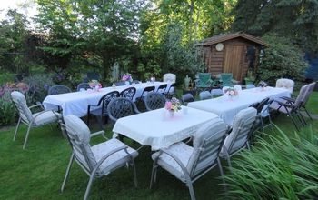 how to throw a garden party for thirty people