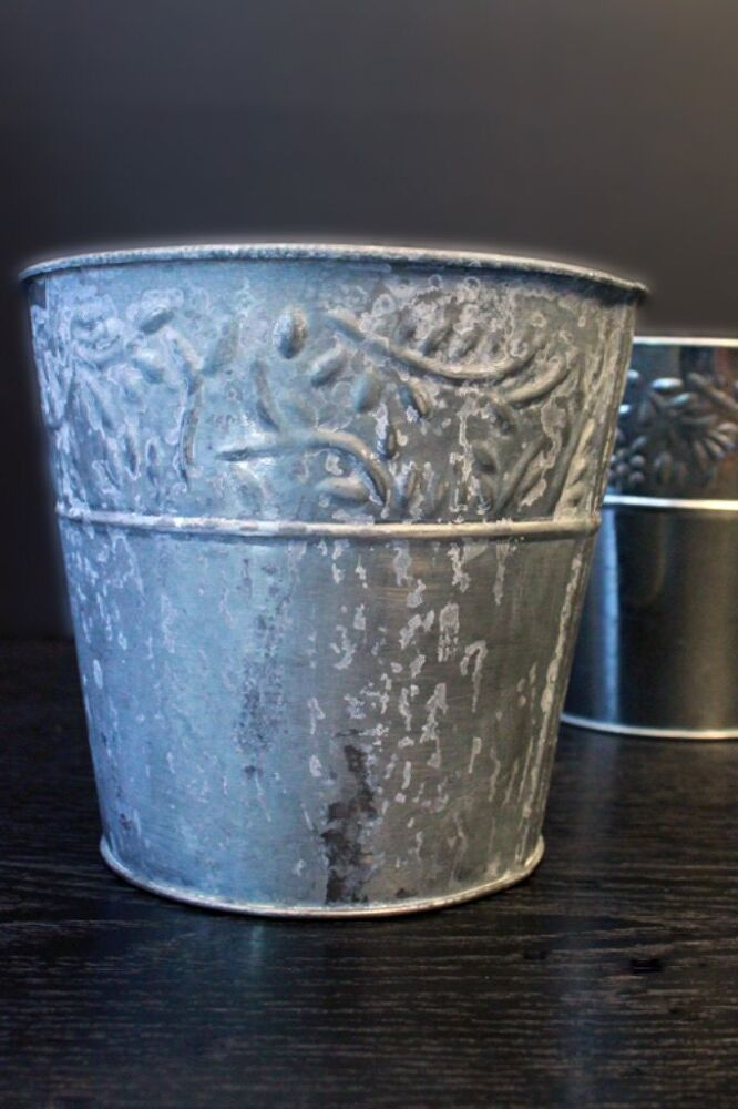 Use This Easy Galvanized Metal Technique