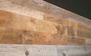 How To Install Reclaimed Wood Wall Planks Original Antique Texture Blend