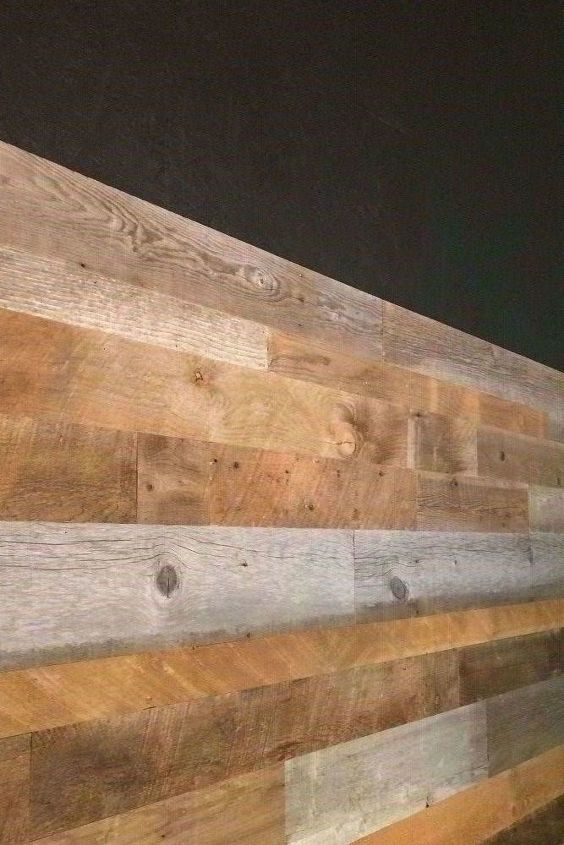 How To Install Reclaimed Wood Wall Planks Hometalk