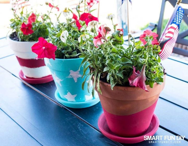give your plants a 4th of july makeover