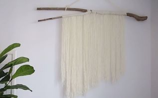 easy string wall hanging