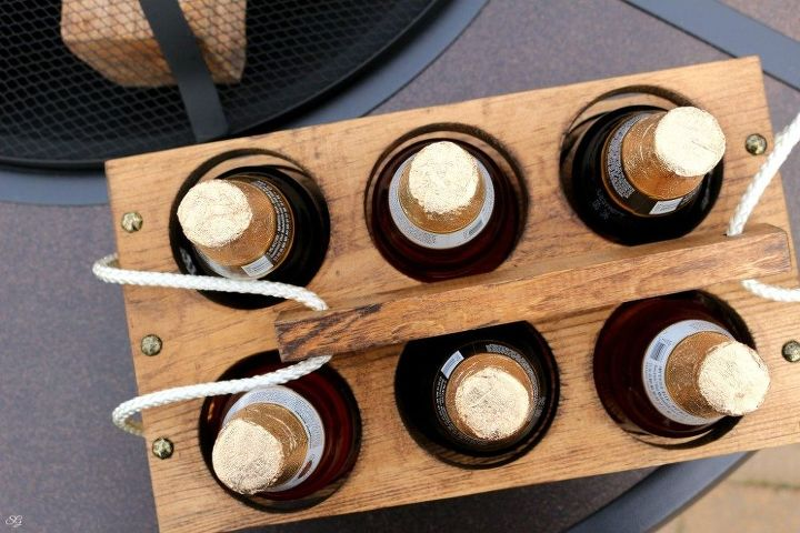 diy beer carrier a perfect gift