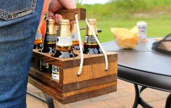 DIY Beer Carrier - A Perfect Gift!