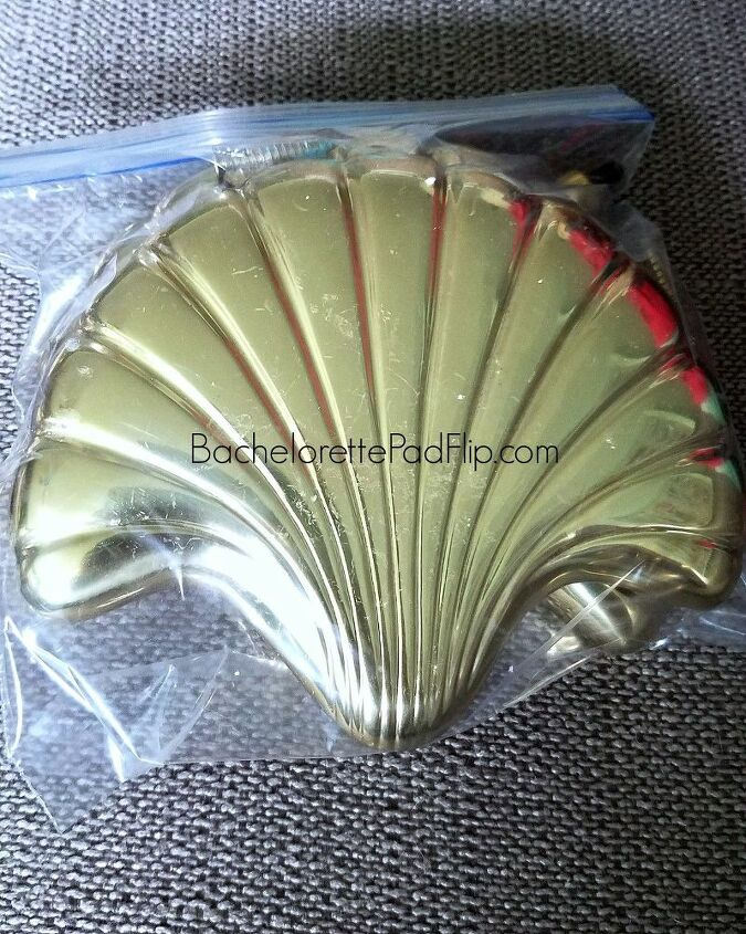 e turning 1 brass curtain tie backs into shabby chic functional decor