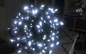 diy outdoor fairy globe light