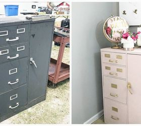 Anthropologie Hack & Flea Market Flip Evidence Cabinet Reveal ...