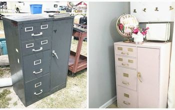 anthropologie hack flea market flip evidence cabinet reveal