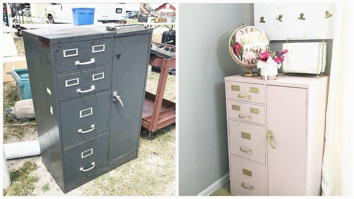 Woman finds $15 cabinet at flea market—look at how ...