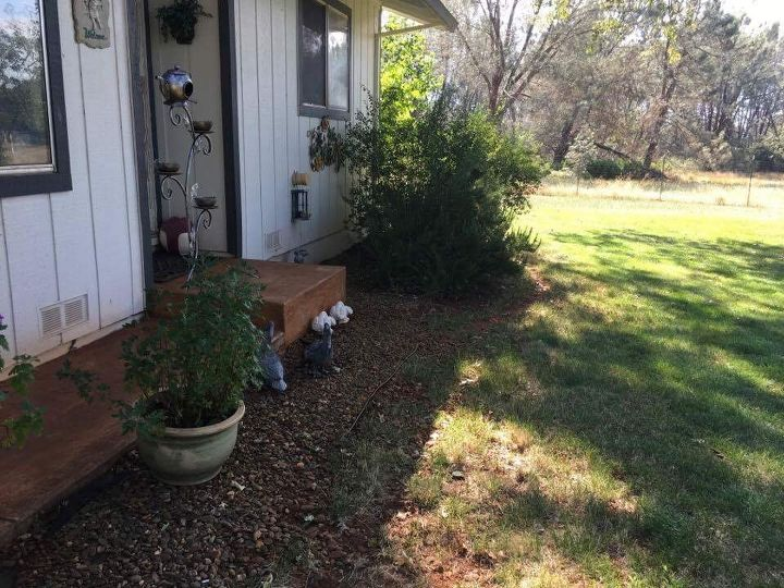 q i want to make a little porch area for a little table and chairs