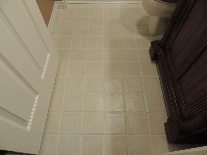 s check out these 30 incredible floor transformations ideas, Paint the grout to give your tile a new look