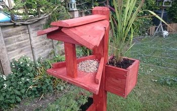 Bird Table With Planters