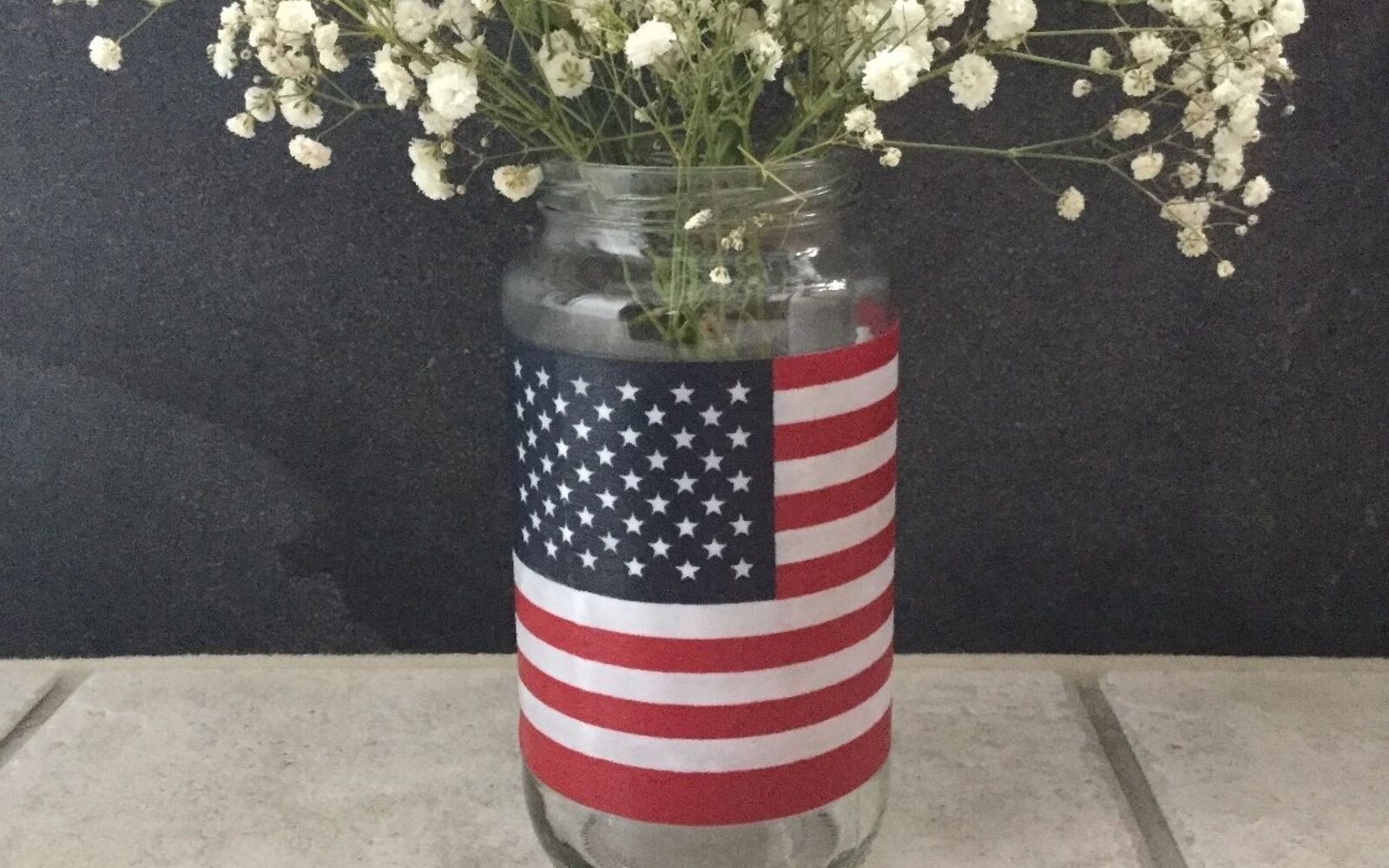 s 10 patriotic projects perfect for your fourth of july party, Dump Out Your Olives And Put On A Flag