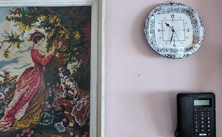 the fastest clock makeover ever