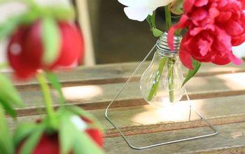 DIY Hanging Hi-tech Vase