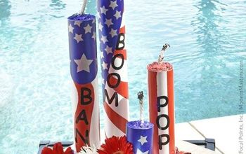 Fourth of July DIY: Metallic Faux Firework Sparklers