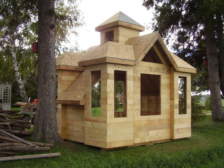Playhouse Storage Shed Hometalk