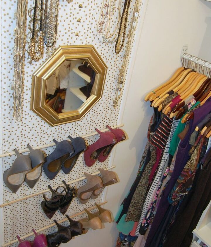 s 30 amazing ways to organize your shoes, Build a chic organizer for your pumps