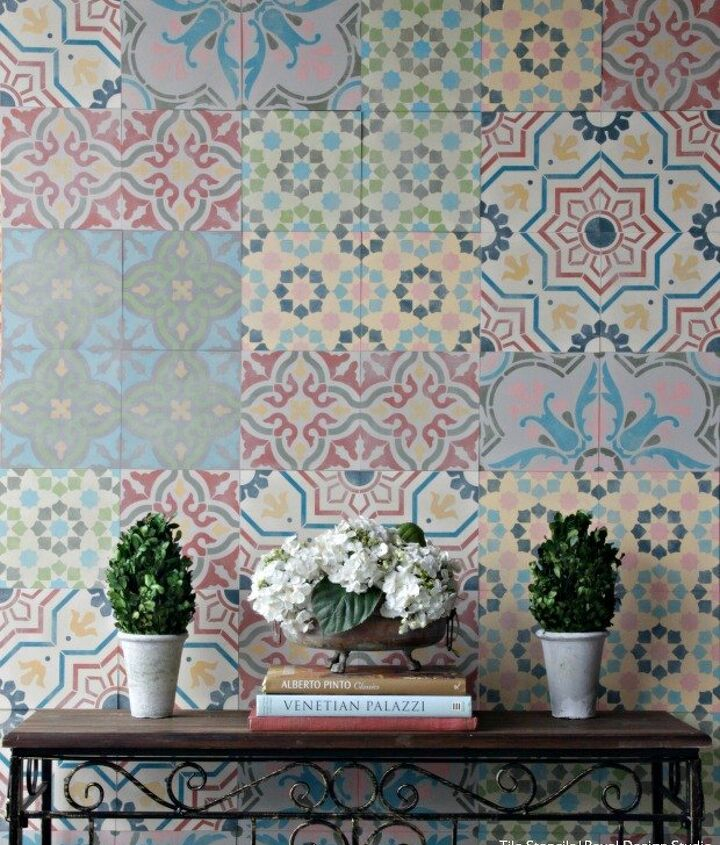 s 31 creative ways to fill empty wall space, Add design and style with Spanish tiles