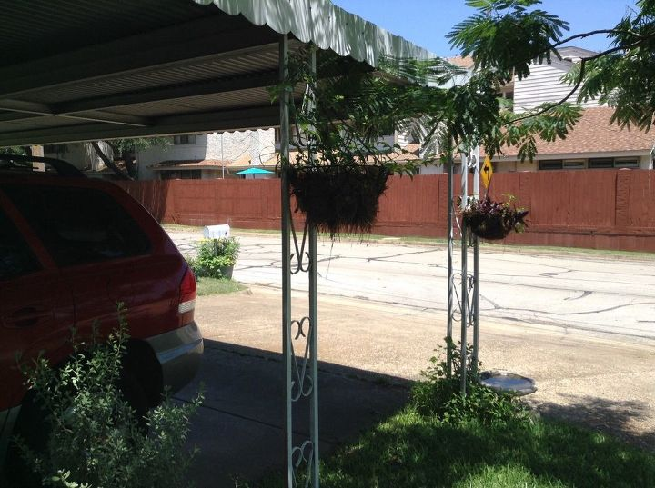 q any ideas on updating this carport