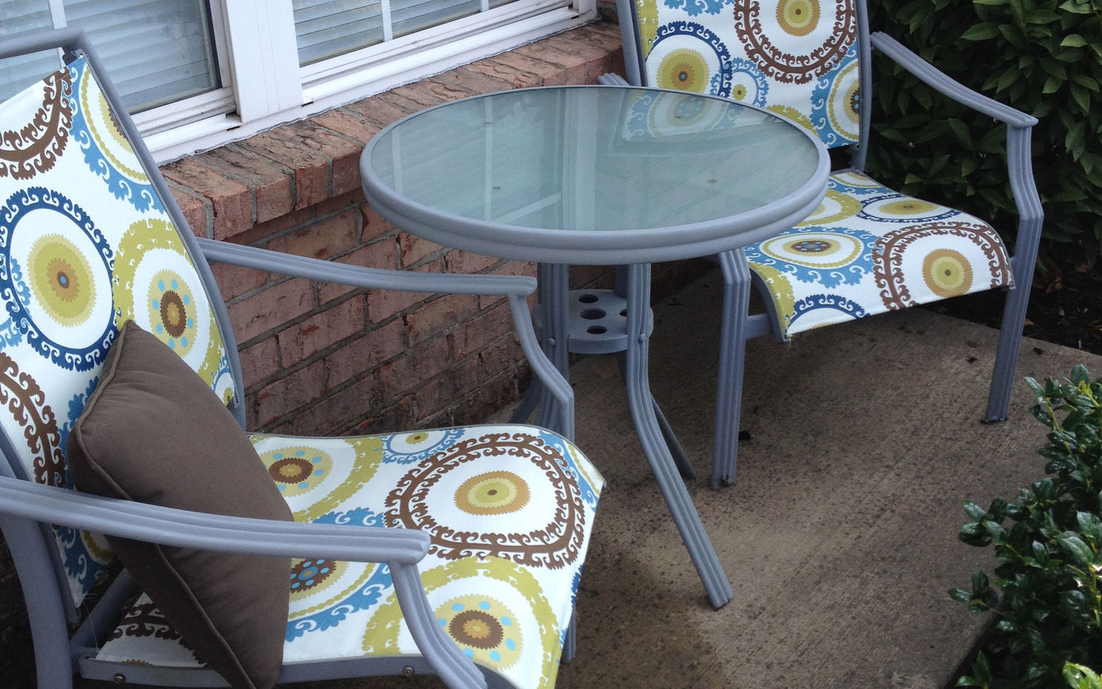 s 15 decorative ways your family can pretty up your patio, Redo A Patio Set For 25