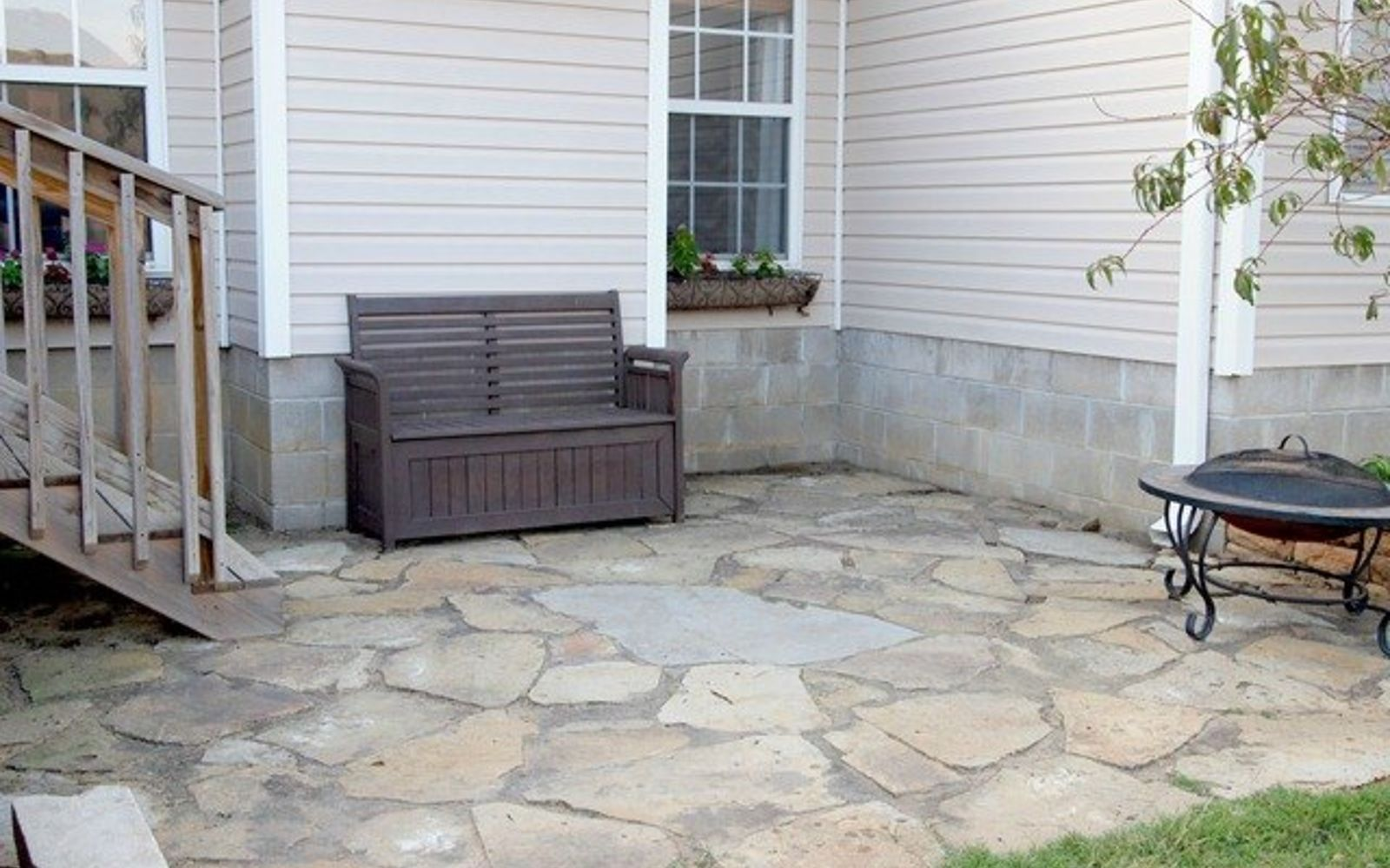 s 15 decorative ways your family can pretty up your patio, Coordinate Rocks Onto Your Patio