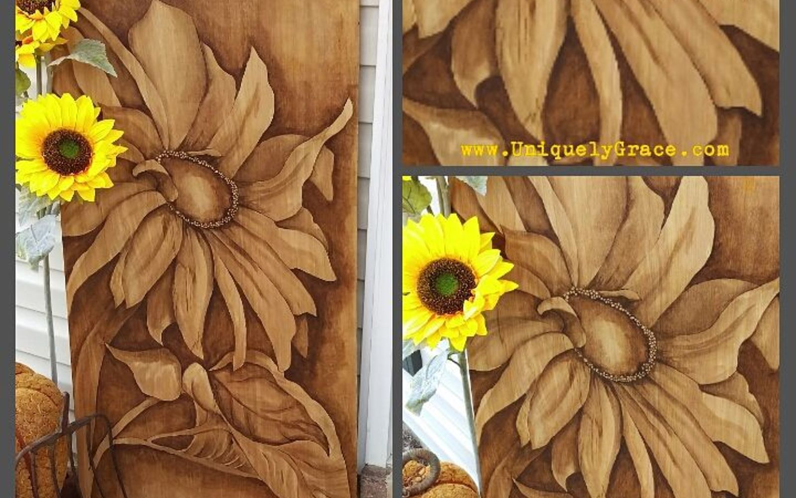 s 15 decorative ways your family can pretty up your patio, Stain Wood With Gel Paint