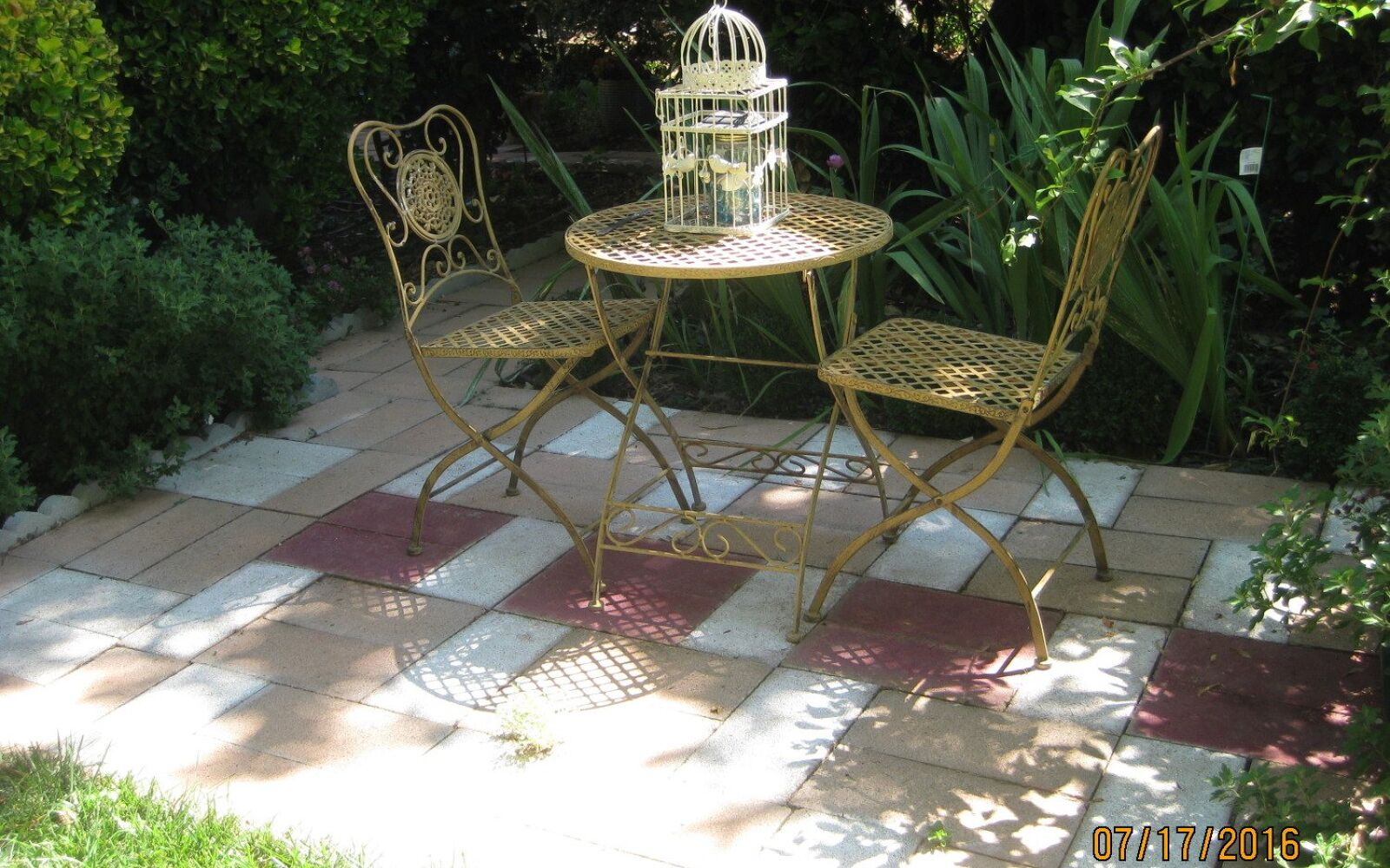 s 15 decorative ways your family can pretty up your patio, Incorporate Caps and Bricks