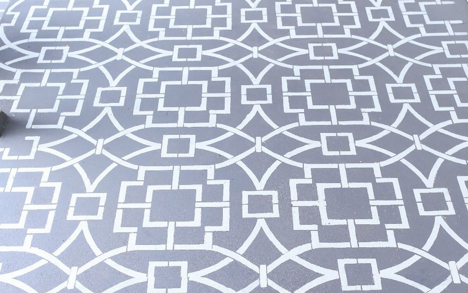 s 15 decorative ways your family can pretty up your patio, Fake Cement Tiling