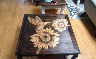 coffee table do over stained top desgn