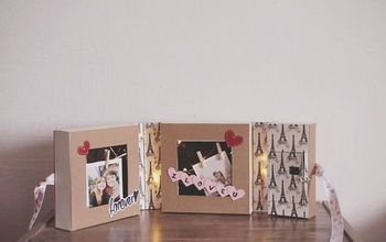Make Your Own DIY Photo Frame With Fairylights!
