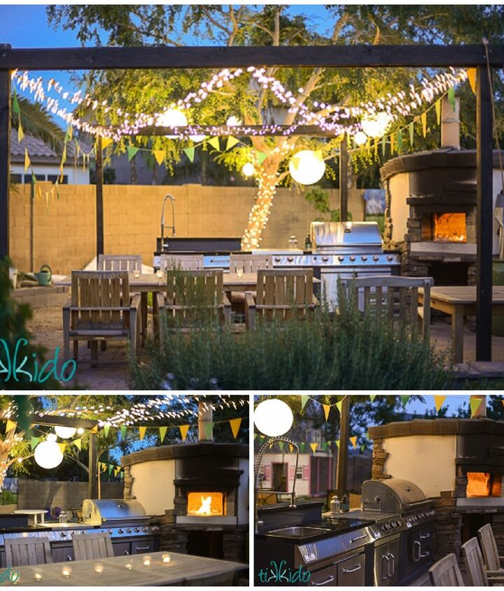 s 30 neat ideas to upgrade your backyard, Build your own outdoor pizza oven
