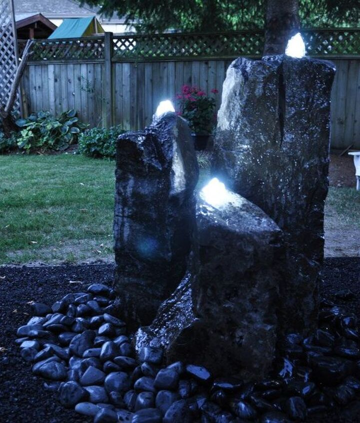 s 30 neat ideas to upgrade your backyard, Add a stunning water feature to your backyard