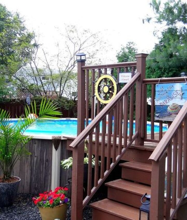 s 30 neat ideas to upgrade your backyard, Transform an old pool into a paradise
