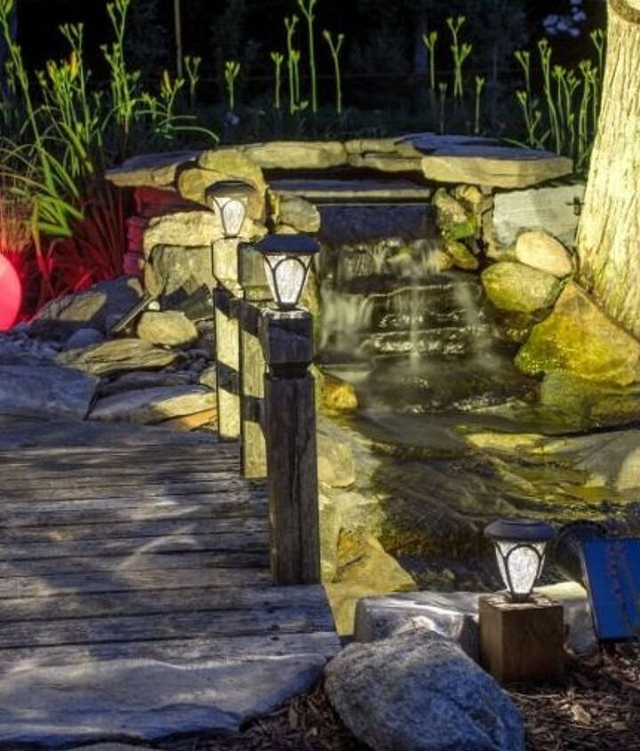 s 30 neat ideas to upgrade your backyard, Install a peaceful fish pond