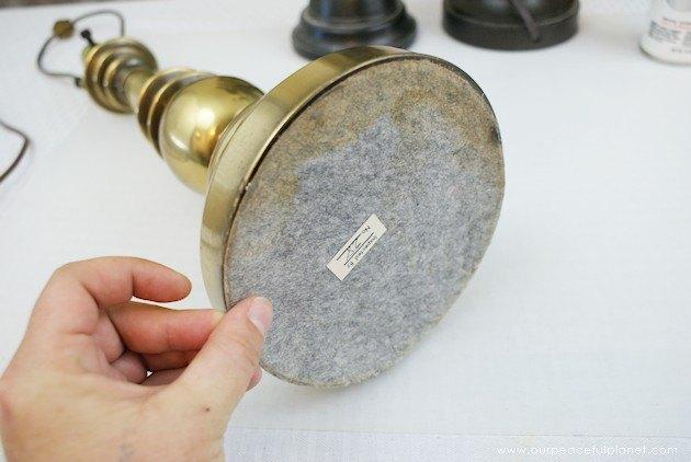 Turn Old Lamp Into Solar Lamp Hometalk