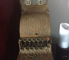 q i have an antique copper cash register how should i clean it