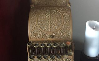 q i have an antique copper cash register how should i clean it