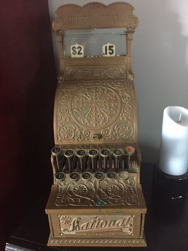 I Have An Antique Copper Cash Register How Should I Clean