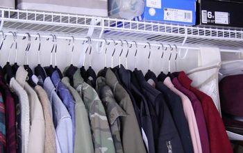 Affordable Closet Storage Organization