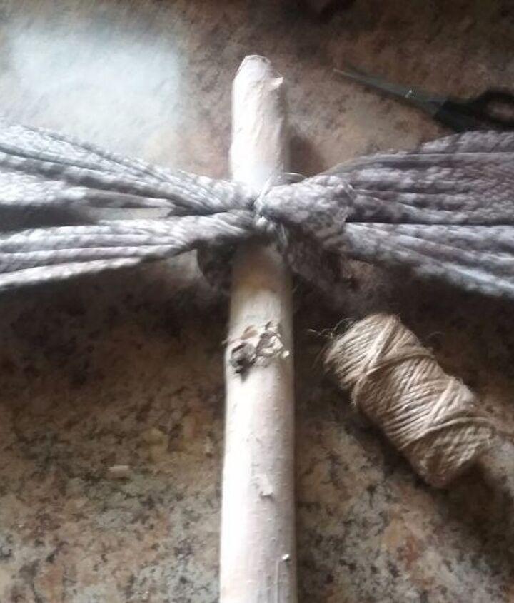 birch branch dragonfly