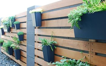 Easy & Amazing DIY Modern Plant Wall
