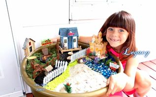 the diy ultimate fairy garden vacation with grandchildren