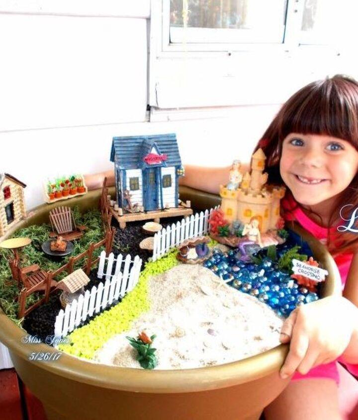 the diy ultimate fairy garden vacation with grandchildren