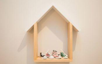 Shelf Shaped Like A House